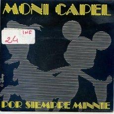 Discos de vinilo: MONI CAPEL / POR SIEMPRE MINNIE (SINGLE PROMO 1989). Lote 52820998