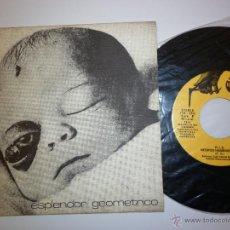 Discos de vinilo: ESPLENDOR GEOMÉTRICO PRIMERA EDICIÓN 1981 TIC TAC PERFECTO ESTADO. Lote 52824735