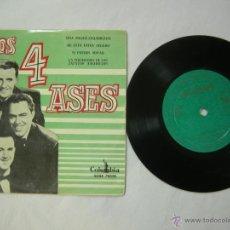 Discos de vinilo: EP LOS 4 ASES - UNA MUJER ENAMORDA - DE ESTO ESTOY SEGURO - SI PUEDES SOÑAR - LA MUCHACHA, 50-60. Lote 52825058