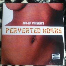 Discos de vinilo: AFU-RA PRESENTS - PERVERTED MONKS - DOBLE VINILO - LP - LIFE FORCE - 2004. Lote 52825128