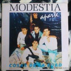 Discos de vinil: MODESTIA APARTE - COSAS DE LA EDAD - LP - VINILO - SALAMANDRA - 1990. Lote 52825333