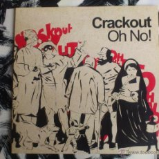 Discos de vinilo: CRACKOUT - OH NO! - DOBLE VINILO - LP - EMI - 2004. Lote 52825390