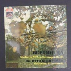 Discos de vinilo: DISCO VINILO BEETOHOVEN SINFONIA N2 EN RE MAYOR OP 36 EMI LA VOZ DE SU AMO 1970 DCL017. Lote 52832086