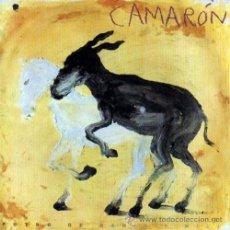 Discos de vinilo: LP CAMARON POTRO DE RABIA Y MIEL VINILO MIKEL BARCELO FLAMENCO. Lote 97776532