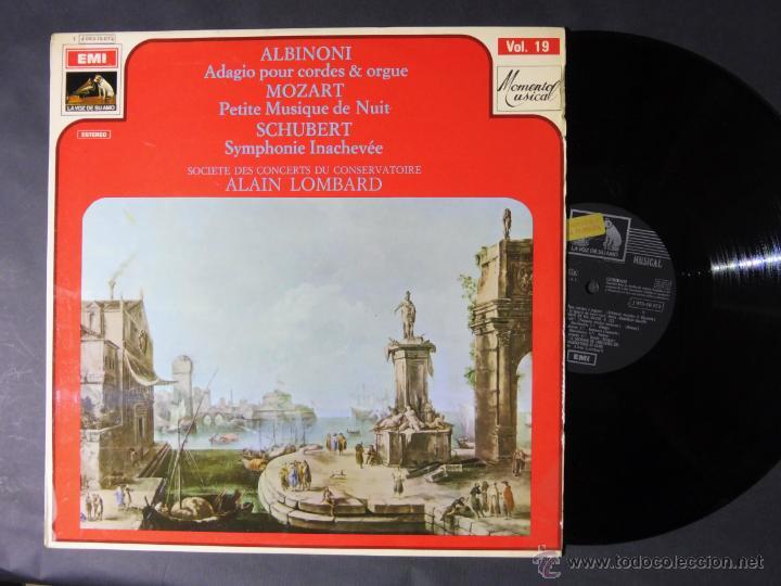 DISCO VINILO ALBINONI ADAGIO POUR CORDES & ORGUEA EMI LA VOZ DE SU AMO 1970 DCL027 (Música - Discos - Singles Vinilo - Clásica, Ópera, Zarzuela y Marchas)