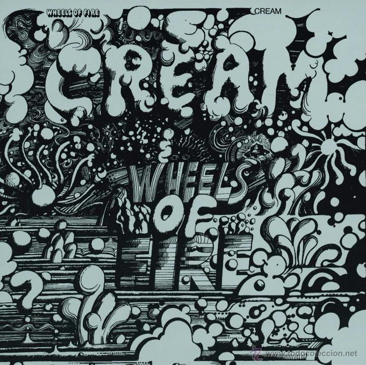 2LP CREAM WHEELS OF FIRE VINILO PSYCH ROCK BLUES (Música - Discos - LP Vinilo - Pop - Rock Extranjero de los 50 y 60)