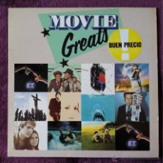 Discos de vinilo: BSO, MOVIE GREATS (WEA) LP ESPAÑA - E.T. THE STING JAWS JESUS CHRIST SUPERSTAR LOVE STORY. Lote 52839034