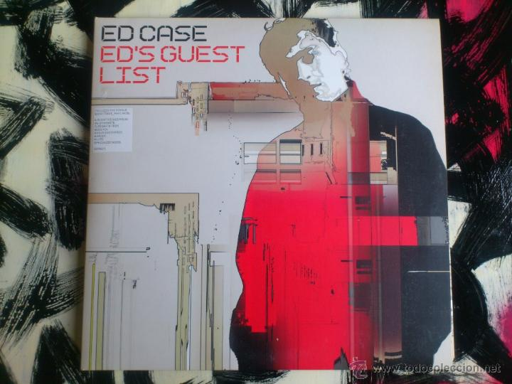 ED CASE - ED´S GUEST LIST - CUADRUPLE VINILO - LP - SONY - 2002 (Música - Discos - LP Vinilo - Techno, Trance y House)
