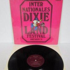 Discos de vinilo: INTERNACIONALES DIXIELAND FESTIVAL DRESDEN 78 AMIGA / GERMANY - MX. Lote 52843274