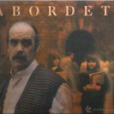 Disques de vinyle: 3 LP´S DE LABORDETA : CANTES DE LA TIERRA ADENTRO + QUE QUEDA DE MI + TIEMPO DE ESPERA. Lote 52843476