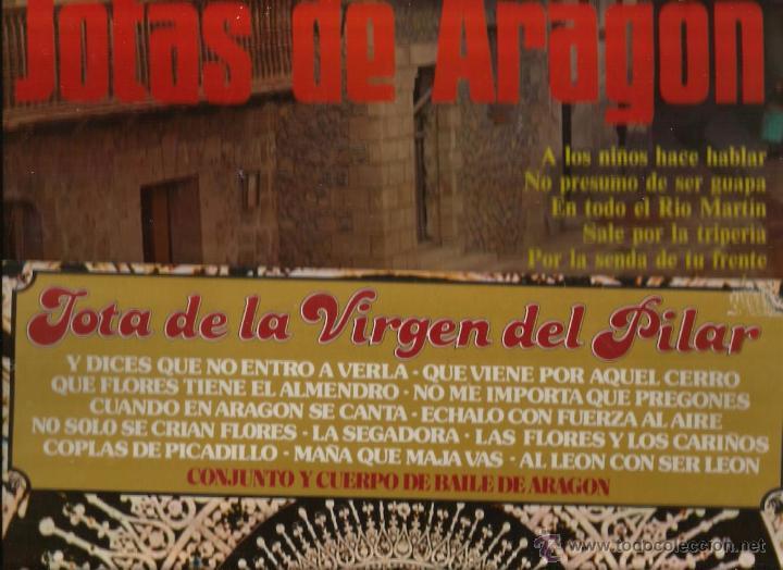 Discos de vinilo: 15 LP´S ARAGON FOLK ( JOTAS ARAGONES ARAGONESA VIRGEN DEL PILAR ZARAGOZA CALATAYUD VIVA LA JOTA ) - Foto 8 - 52845083