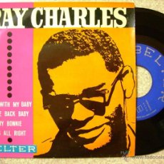 Discos de vinilo: RAY CHARLES.ROLL WITH MY BABY + 3. Lote 52845740