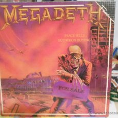 Discos de vinilo: MEGADETH - PEACE SELLS....BUT WHO,S BUYING?. Lote 52845943