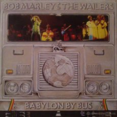Discos de vinilo: BOB MARLEY AND THE WAILERS, BABYLON BY BUS. Lote 52848770