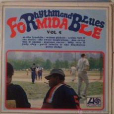 Discos de vinilo: FORMIDABLE, RHYTHM AND BLUES. VOLUMEN 5. Lote 52848974