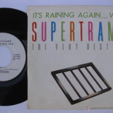 Discos de vinilo: SUPERTRAMP - EP SPAIN PS - PROMO * MINT * OFICIAL LIMITED ED. & NUMBERED * 40 PRINCIPALES SPECIAL ED. Lote 52849186