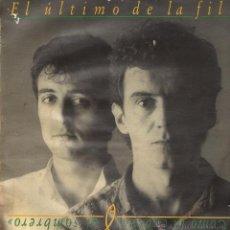 Discos de vinilo: COMO LA CABEZA AL SOMBRERO EL ULTIMO DE LA FILA LP. Lote 52849908