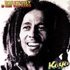 Discos de vinilo: LP BOB MARLEY & THE WAILERS KAYA VINILO 180G + MP3 REGGAE. Lote 52860194