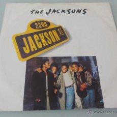 THE JACKSONS.- MAXI-SINGLE 12¨-EPIC-1989.- JACKSON STREET + KEEP HER