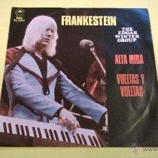 Discos de vinilo: THE EDGAR WINTER GROUP.FRANKESTEIN.EP.TRES CANCIONES.HECHO EN MEXICO 1973.EPIC.. Lote 52860364