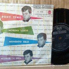 Discos de vinilo: JOSE FRANCIS -PONY TIME-Y 3 MAS-PIONERO DEL ROCK AND ROLL EN ESPAÑA-. Lote 52860465