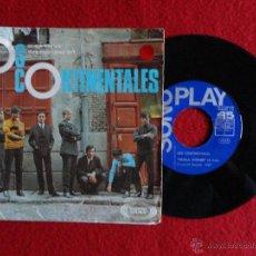 Discos de vinilo: LOS CONTINENTALES - DEJALA DORMIR / VIVO FELIZ COMO SOY // SINGLE // 1967. Lote 52850926