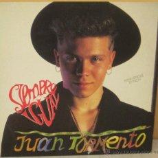 Discos de vinilo: JUAN TORMENTO - SIEMPRE IGUAL ARIOLA - 1990. Lote 52864634