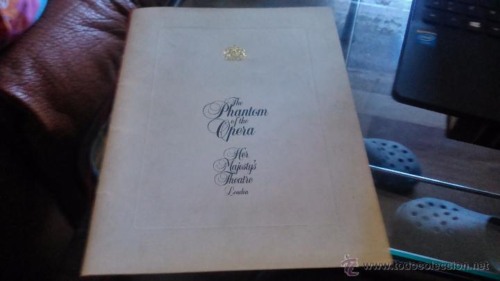 THE PHANTOM OF THE OPERA 1986 (Música - Discos de Vinilo - Maxi Singles - Otros Festivales de la Canción)