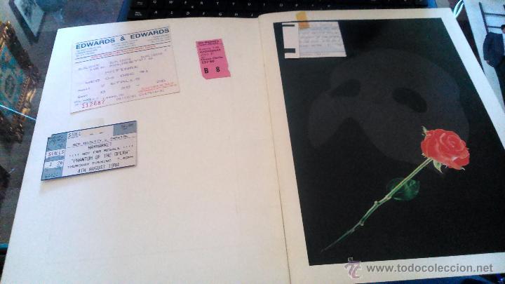 Discos de vinilo: THE PHANTOM OF THE OPERA 1986 - Foto 2 - 52865920