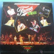 Discos de vinilo: LOS CHICOS DE FAMA EN VIVO LP. Lote 52868891