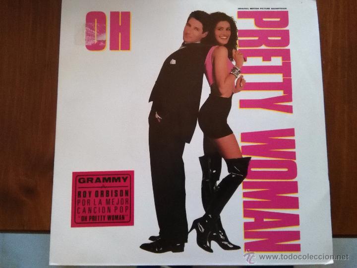 ROY ORBISON 7' SG OH PRETTY WOMAN +1, PROMOCIONAL, SPANISH EDIT JULIA ROBERTS RICHARD GERE (Música - Discos - Singles Vinilo - Bandas Sonoras y Actores)
