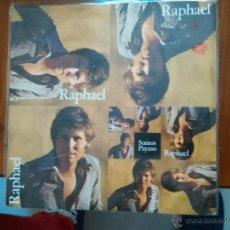 Discos de vinilo: RAPHAEL - SOMOS - PAYASO - HISPAVOX. Lote 52870152