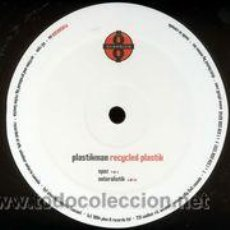 Discos de vinilo: PLASTIKMAN - RECYCLED PLASTIK (MAXI) . Lote 52874526
