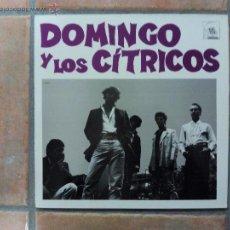 Discos de vinilo: DOMINGO Y LOS CÍTRICOS - S/T - MINI LP - LABEL: TOC TOC - 1987 - POP ROCK. Lote 52879038