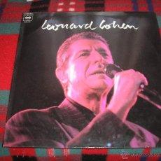 Discos de vinilo: LEONARD COHEN - ´LEONARD COHEN´ - LP ESPAÑOL - PROMO 1989 - . Lote 52879053