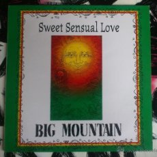 Discos de vinilo: BIG MOUNTAIN - SWEET SENSUAL LOVE - MAXI - VINILO - GIANT RECORDS - 1994. Lote 52884040