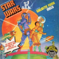 Discos de vinilo: MECO - STAR WARS, SG, STAR WARS THEME + 1, AÑO 1977. Lote 52884877