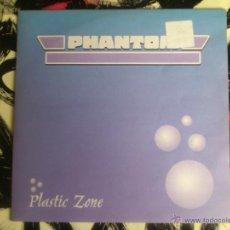 Discos de vinilo: PHANTOM - PLASTIC ZONE - MAXI - VINILO - M.D - 1998. Lote 52886350
