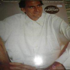 Discos de vinilo: JAMES TAYLOR - THAT´S WHY I´M HERE LP - ORIGINAL HOLANDES - CBS 1985 - CON FUNDA INT. ORIGINAL -. Lote 52887867