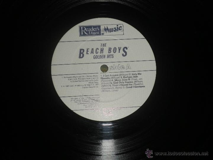 Discos de vinilo: THE BEACH BOYS - GOLDEN HITS - READER´S DIGETS RECORDS 1986 - EDICION INGLESA GGOM-A-9-180 - - Foto 15 - 52888304