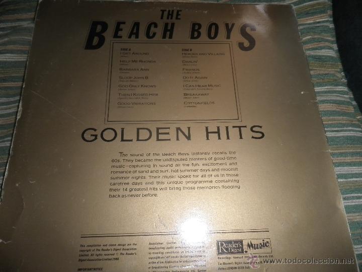 Discos de vinilo: THE BEACH BOYS - GOLDEN HITS - READER´S DIGETS RECORDS 1986 - EDICION INGLESA GGOM-A-9-180 - - Foto 24 - 52888304