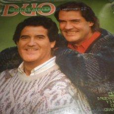 Discos de vinilo: DUO DINAMICO - DUO DINAMICO LP - ORIGINAL ESPAÑOL - CBS RECORDS 1986 - MUY NUEVO (5).. Lote 52888670