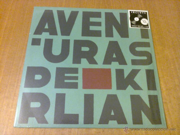 AVENTURAS DE KIRLIAN (LP + CD 2015, WARNER MUSIC SPAIN 2564614257) NUEVO Y PRECINTADO (Música - Discos - LP Vinilo - Grupos Españoles de los 70 y 80)