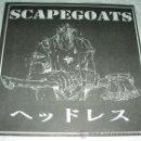 Discos de vinilo: SCAPEGOATS - 81-85 - PEACE PUNK RECORDS - CLEAR VINYL. Lote 52892618