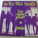 Discos de vinilo: THE TELL-TALE HEARTS ‎– TOO MANY LOVERS / PROMISE - SINGLE MUNSTER RECORDS 2000. Lote 52892706