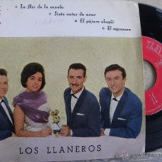 Discos de vinilo: LOS LLANEROS -EP 1961 -ZAFIRO -PEDIDO MINIMO 3 EUROS. Lote 52894700