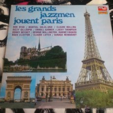 Discos de vinilo: LES GRANDS JAZZMEN JOUENT PARIS - LP - VINILO - MODE SERIE - DISQUES VOGUE. Lote 52895683