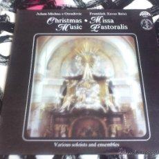 Discos de vinilo: CHRISTMAS MUSIC - MISSA PASTORALIS - LP - VINILO - SUPRAPHON - MÚSICA ANTIGUA BOHEMICA - 1985. Lote 52895746