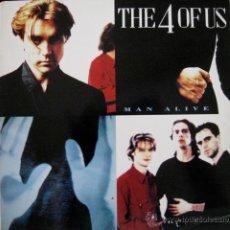 Discos de vinilo: THE 4 OF US - MAN ALIVE - UK 1993. Lote 52895778