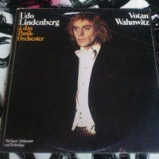 Discos de vinilo: UDO LINDERBERG & DAS PANIK ORCHESTER - VOTAN WAHNWITZ - LP - VINILO - TELDEC - 1975. Lote 52895888